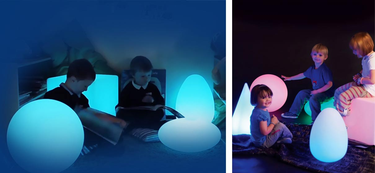loftek led glow cube ball light for kids room