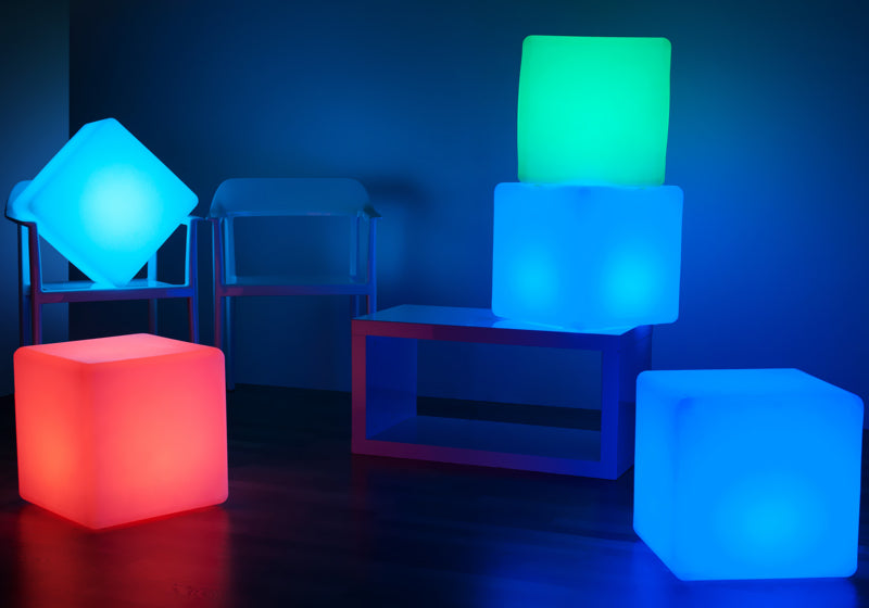loftek led cube lamp for party