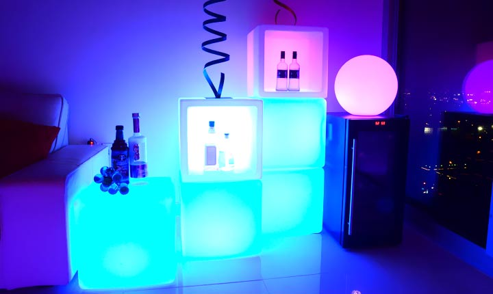 loftek led cube light