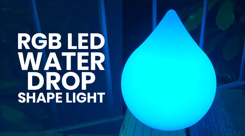loftek rgb led waterdrop mood light