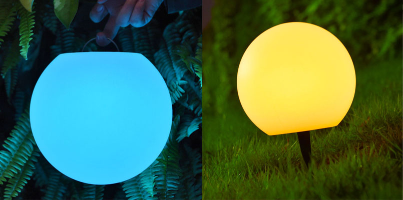loftek new ball light for haning and sticking on the ground