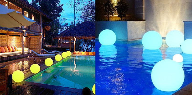 Decorating the swimming pool for your parties in this summer ...