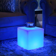 loftek led cube light seat table furniture