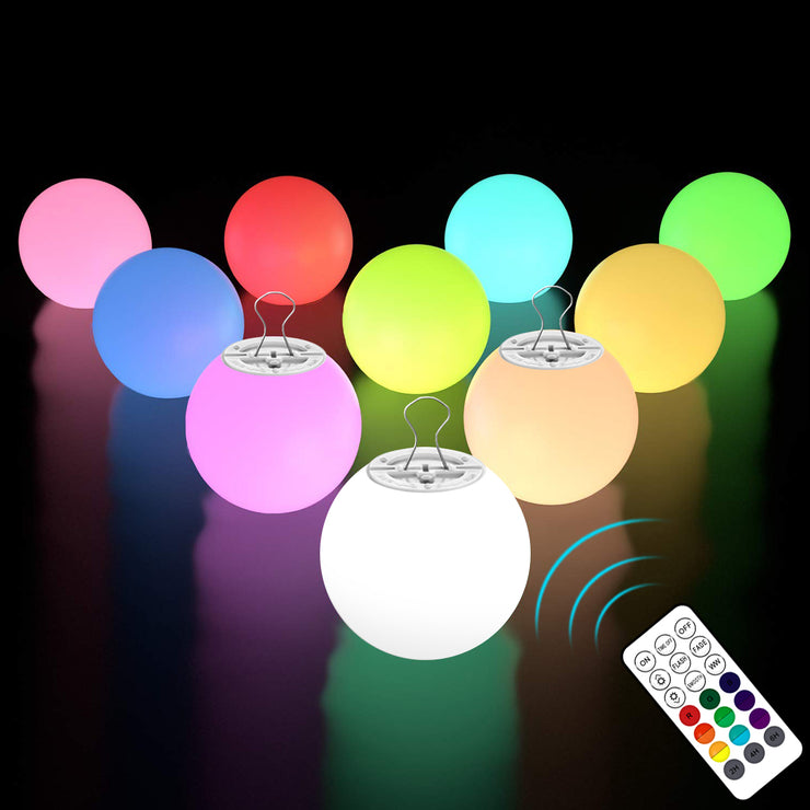Upgrade 3-inch LED Ball Light (with remote)