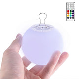 Upgraded 3-inch LED Ball Light (with remote)