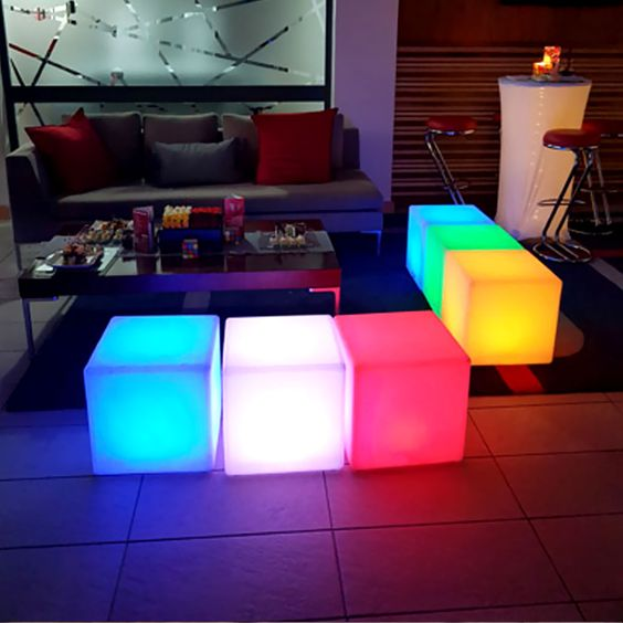 16-inch RGB LED Cube Light