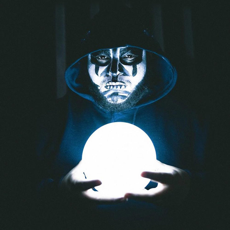 6 inch glow ball light for halloween decoration light