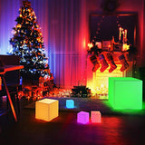 7-inch RGB LED Cube Light