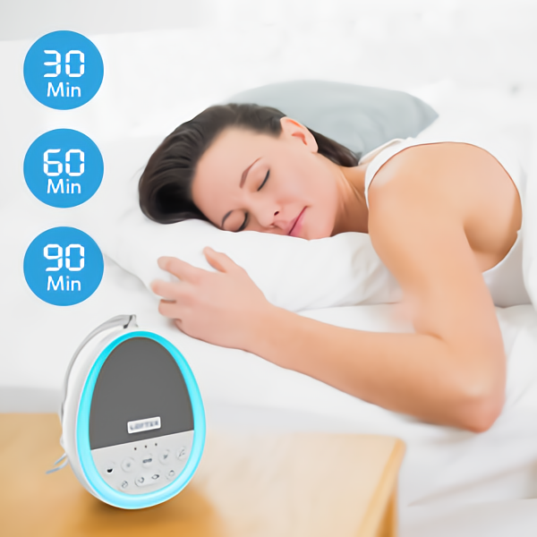 LOFTEK White Noise Machine helps with your sleep