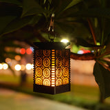 LOFTEK 2-Pack Outdoor Hanging Solar Lanterns