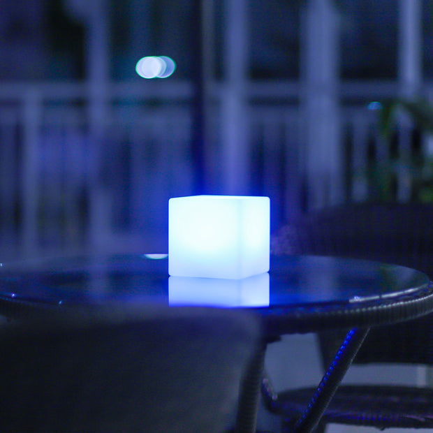 loftek led cube light for coffee table centerpiece