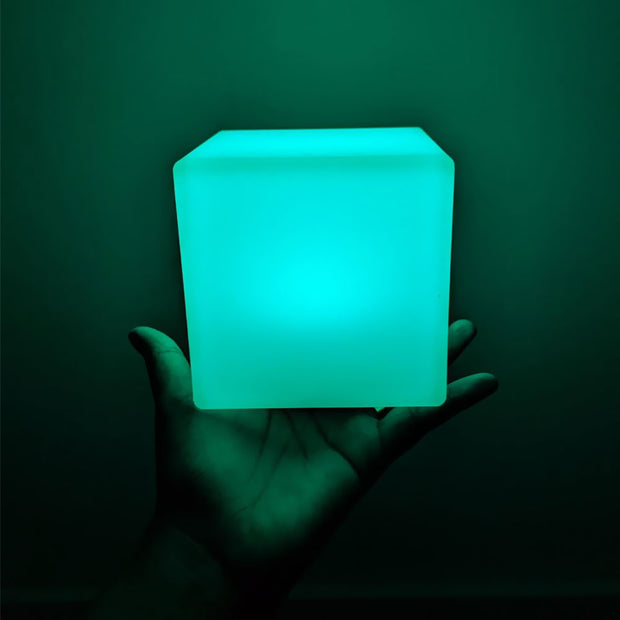 4-inch RGB LED Cube night light for baby