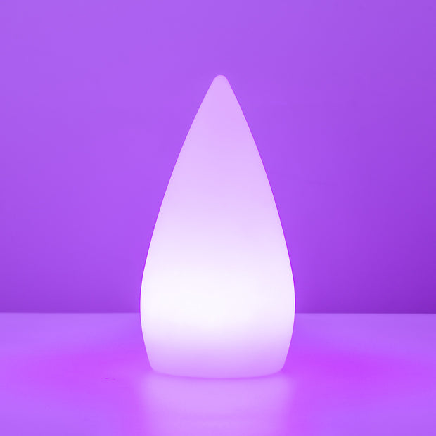 led candle mood night glow color changing lamp for decorating