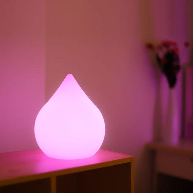 LED Mood Light with Waterdrop Shape for decoration