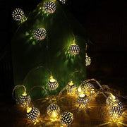 LED Morocco Ball String Lights
