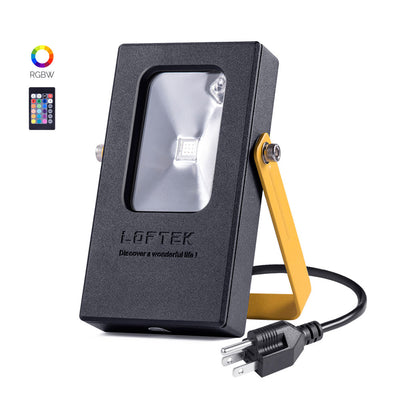 LOFTEK Nova Mini 10W RGB LED Flood Work Light