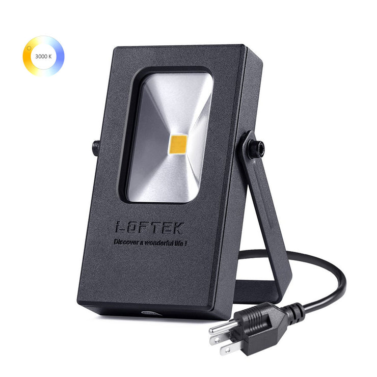 LOFTEK Nova Mini 10W Warm White 3000K LED Flood Light