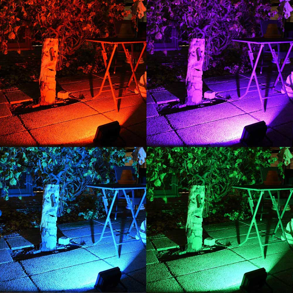 loftek nova plus rgb led flood light for landscape