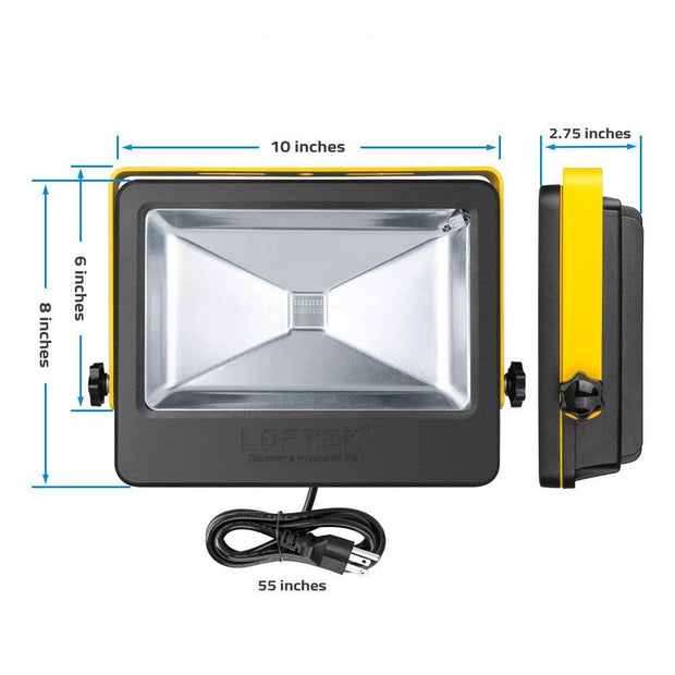 Nova Plus 50W Daylight White 6000K LED Flood Light