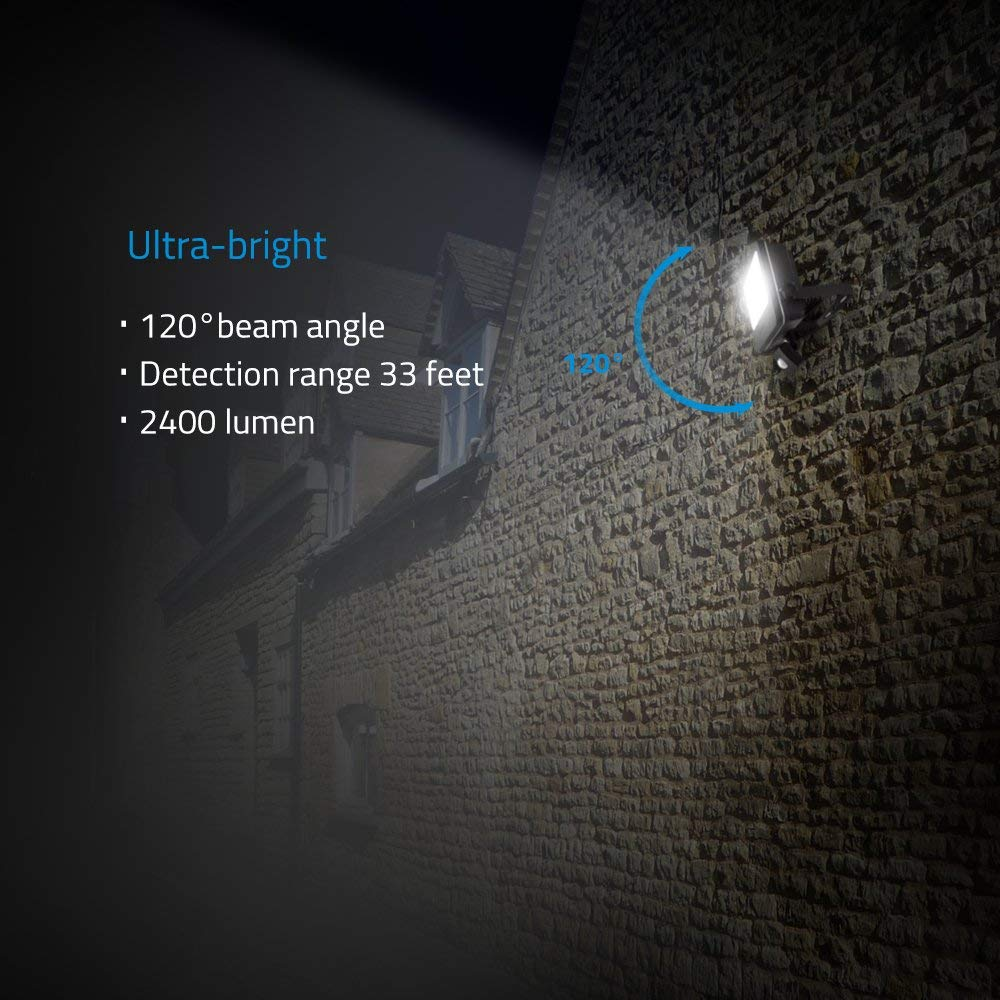 LOFTEK Nova S 30W Motion Sensor LED Flood Light outdoor indoor
