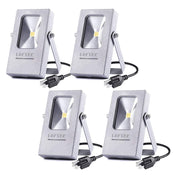 4-Pack Nova Mini 10W Warm White 3000K LED Flood Light