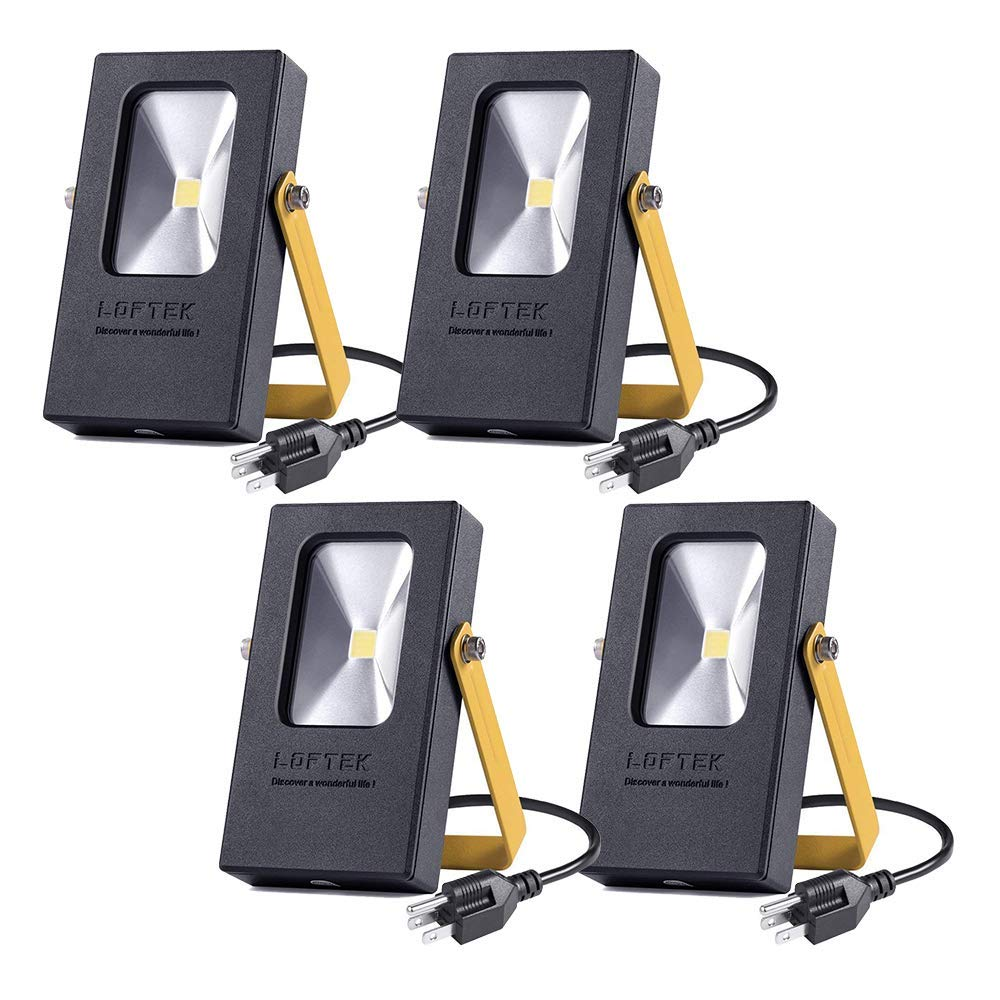 LOFTEK Nova Mini 10W Daylight 5000K LED Flood Light