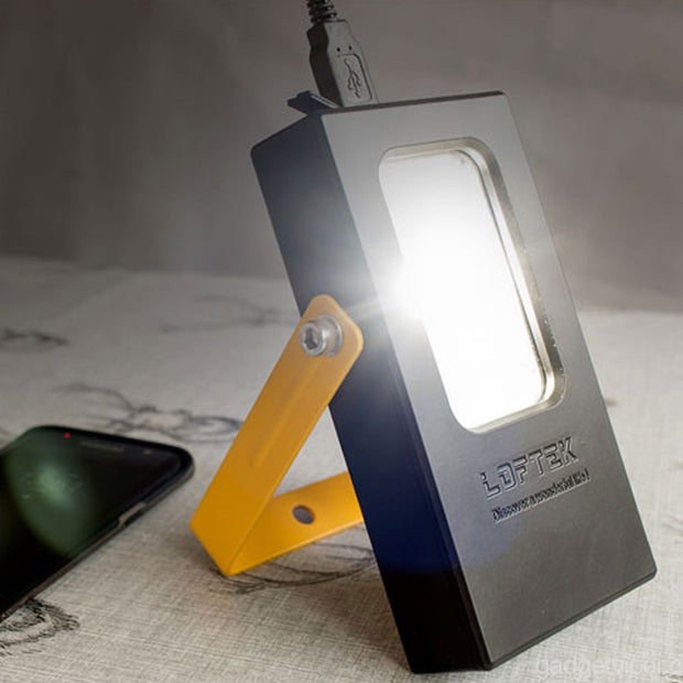 loftek led work light charging phone