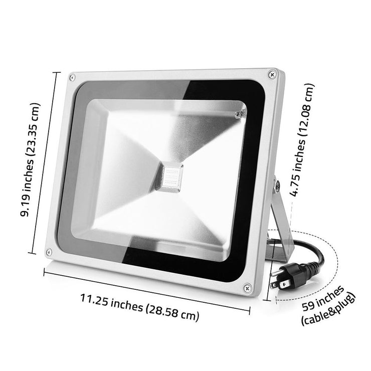 LOFTEK Proto 50W RGB LED Flood Light indoor outdoor