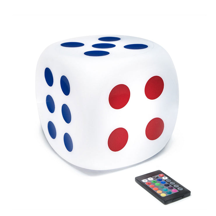 8-inch Multicolored Led Dice Mood Light