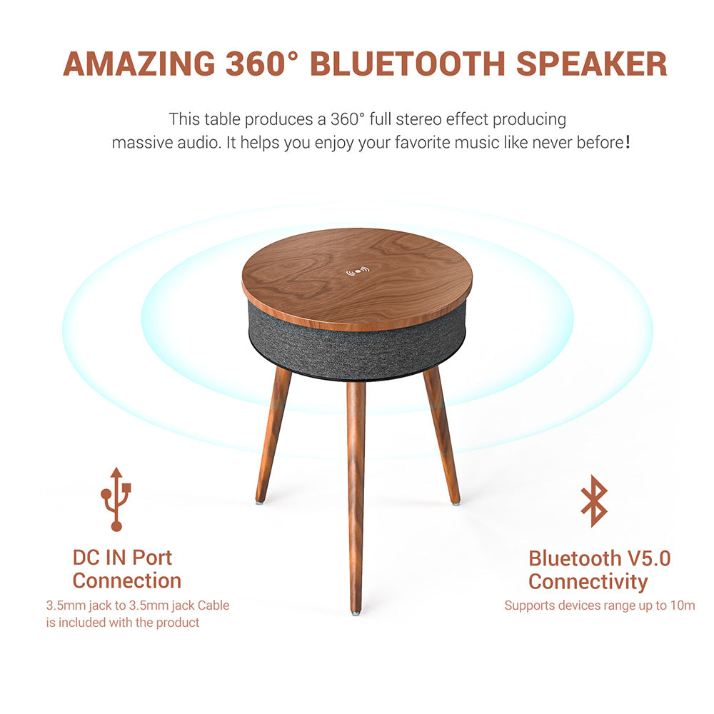 Smart Bluetooth Speaker Table