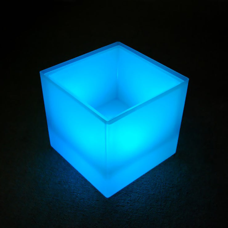 Cordless RGB glowing furniture cabinet container ice bucket