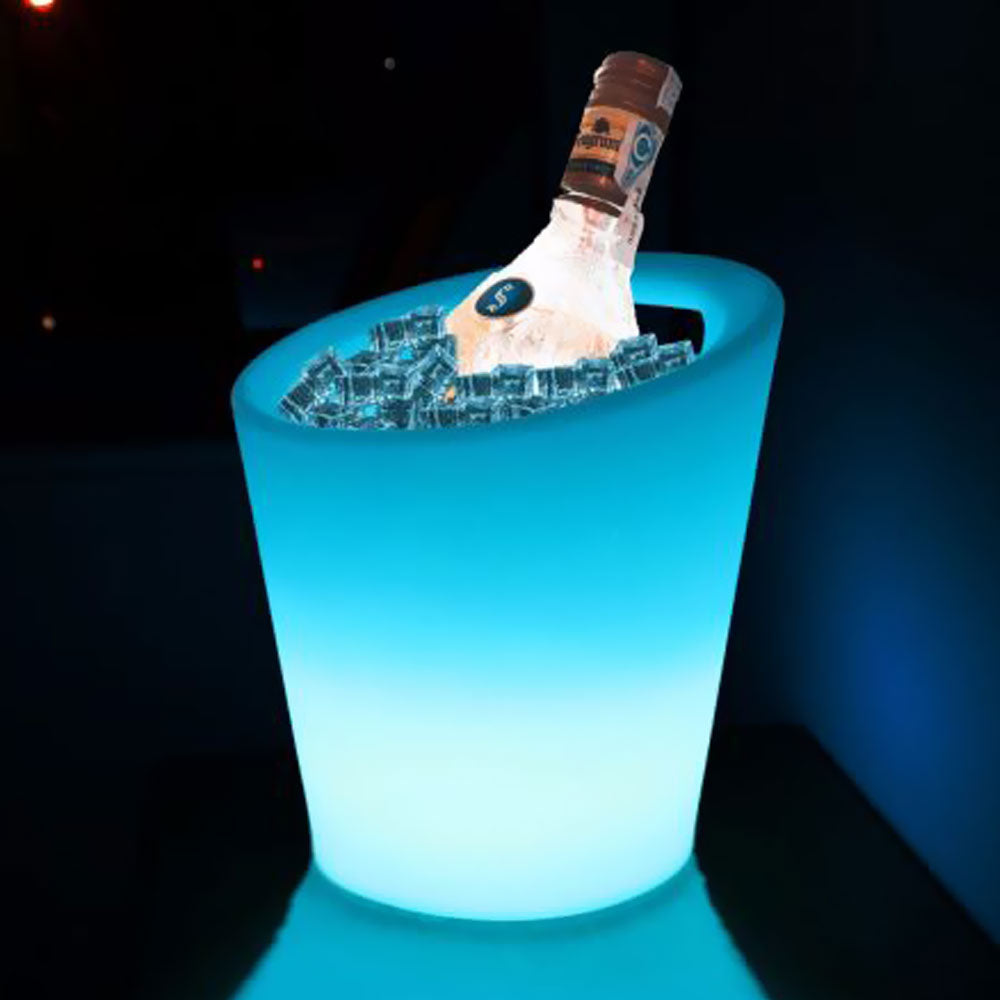 LED Ice Cooler Bucket for wine beer at Parties and Events