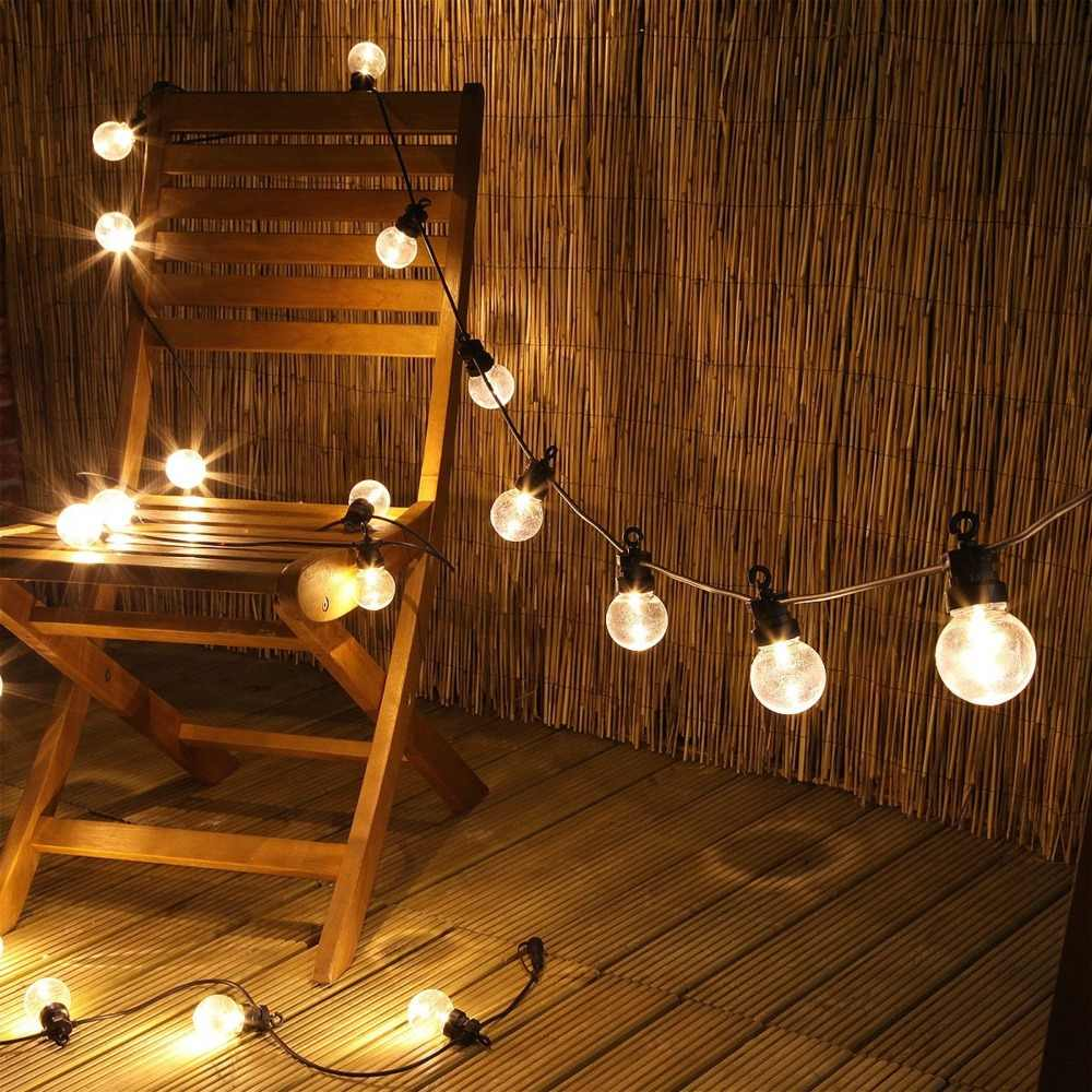 LED Globe Bulb String Fairy Light