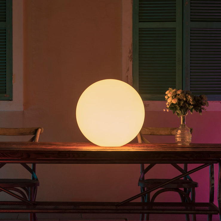led glow ball light for home patio decorating