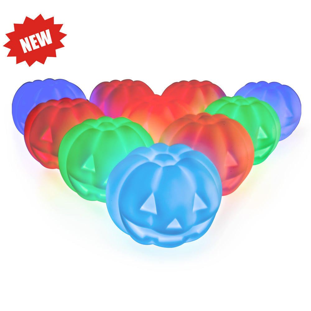 10-pack pumpkin led lamp