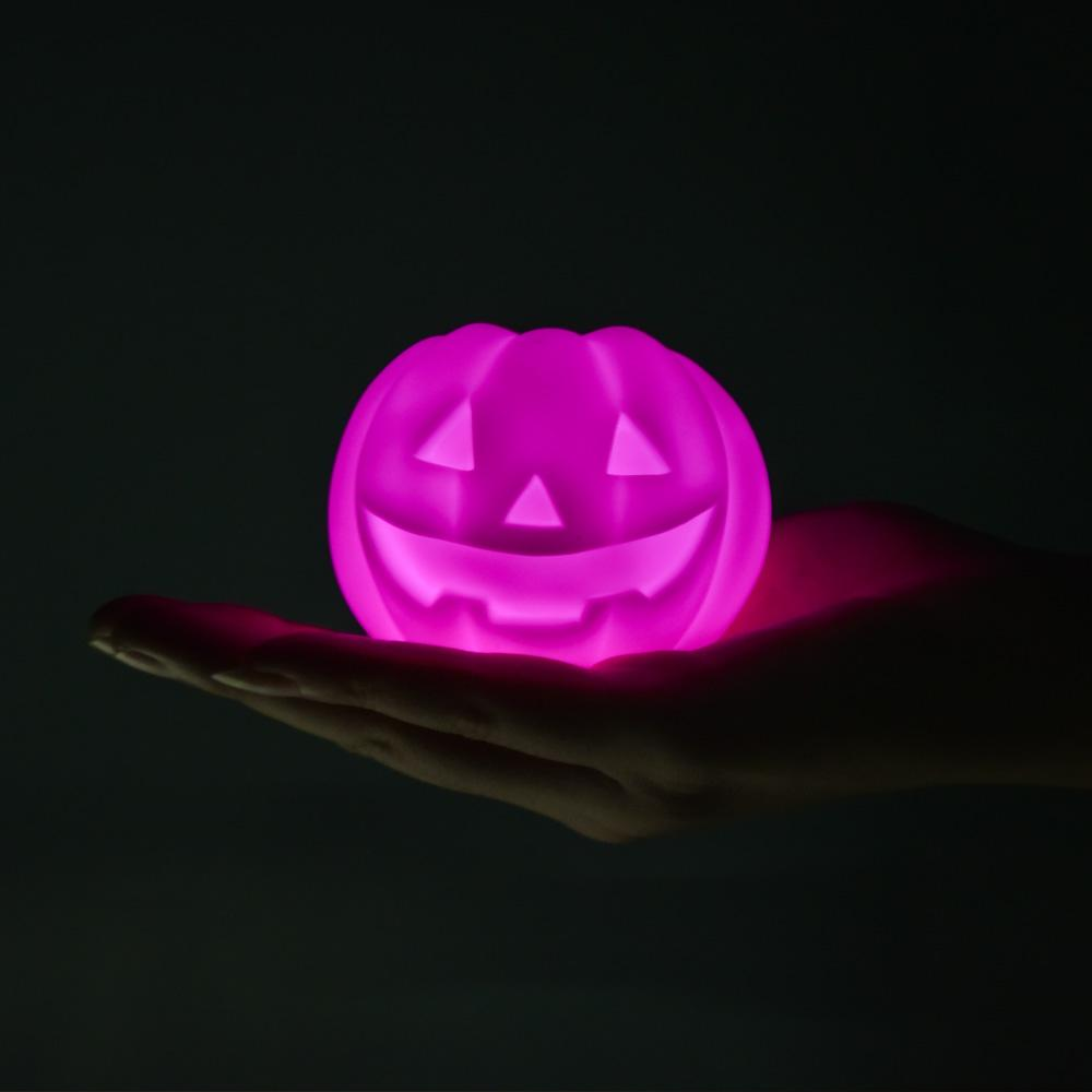 loftek led rgb halloween pumpkin decor light