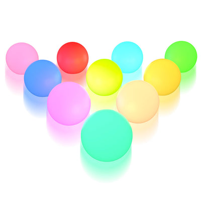 10-Pack 3-inch LED floating pool Light Ball