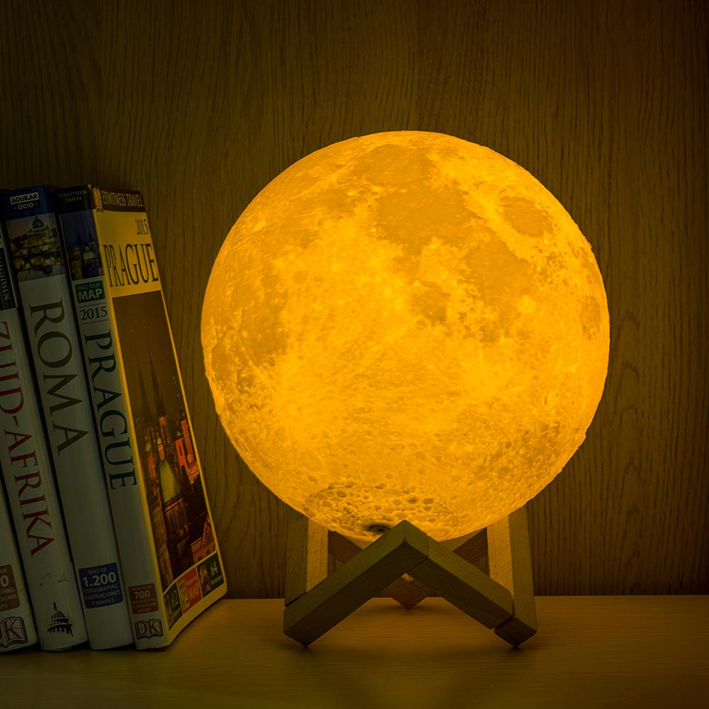 loftek 3D Printing Moon Lamp for table setting