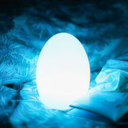 loftek led glow egg night light for bedroom decor