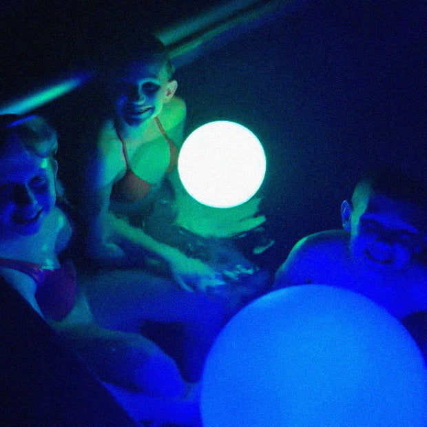 loftek led 6-inch ball light for swimming pool party decoration