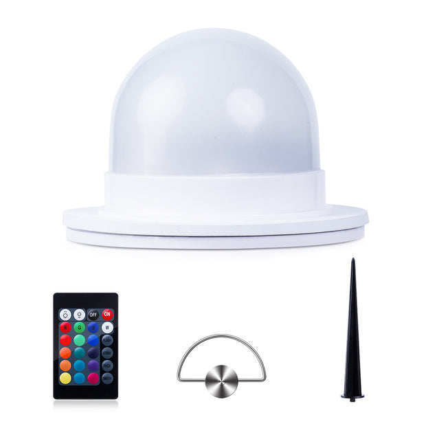 4.7-inch RGB LED Light Bulb Replacement with Hanging Hook