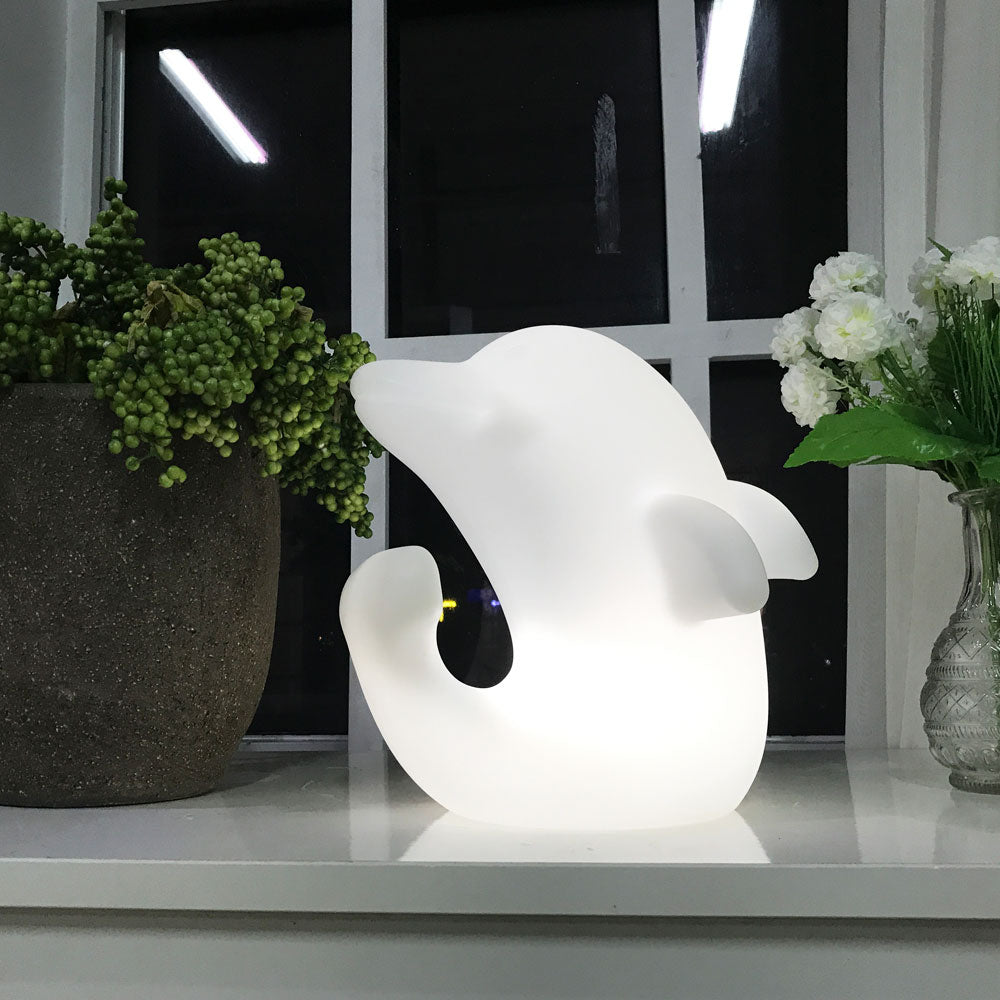 LOFTEK LED Night Light Mood Lamp with Dolphin Shape
