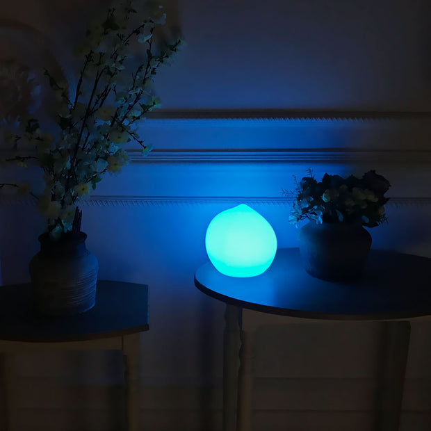 loftek peach color changing mood lamp for decorating