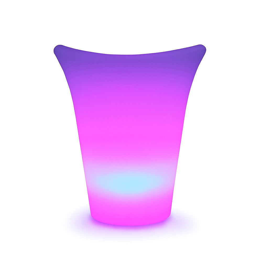 loftek led wine ice bucket color changing