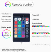 loftek led rgb color changing light remote controller
