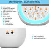 LOFTEK White Noise Machine with simple control