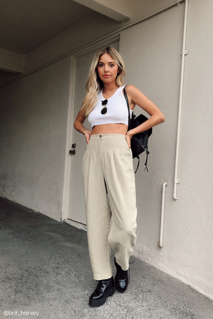 NATASHA CROPPED PANTS
