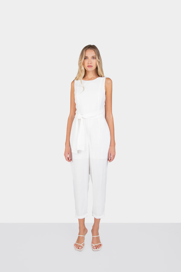DULCE BACK TIE JUMPSUIT - LOST APRIL