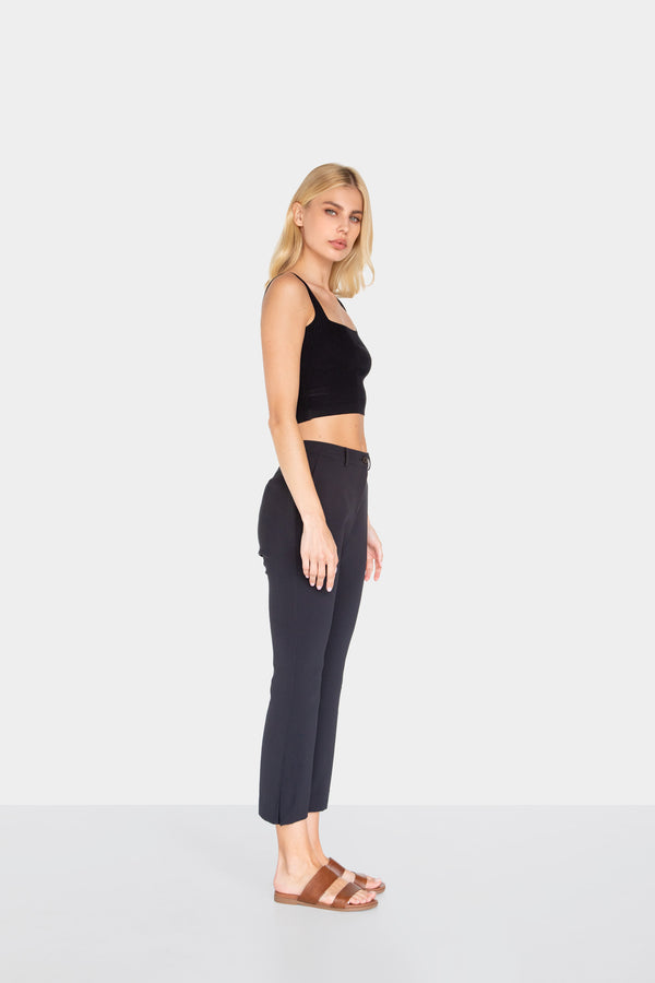 SALOME FLARE PANTS BLACK 02