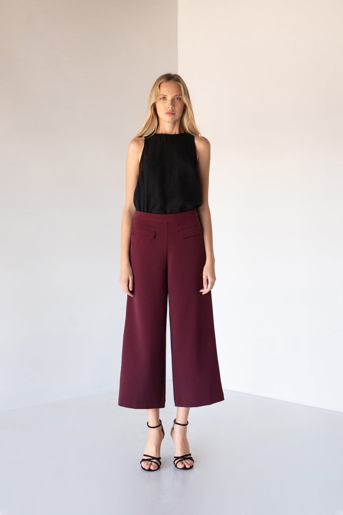 MARLEY WIDE LEG PANTS - LOST APRIL